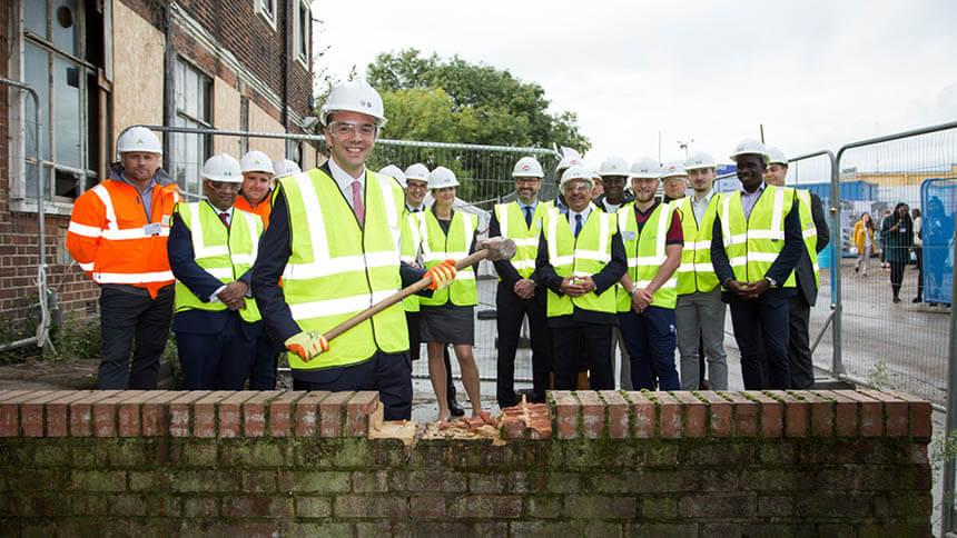 Launch of Old Oak housing regeneration