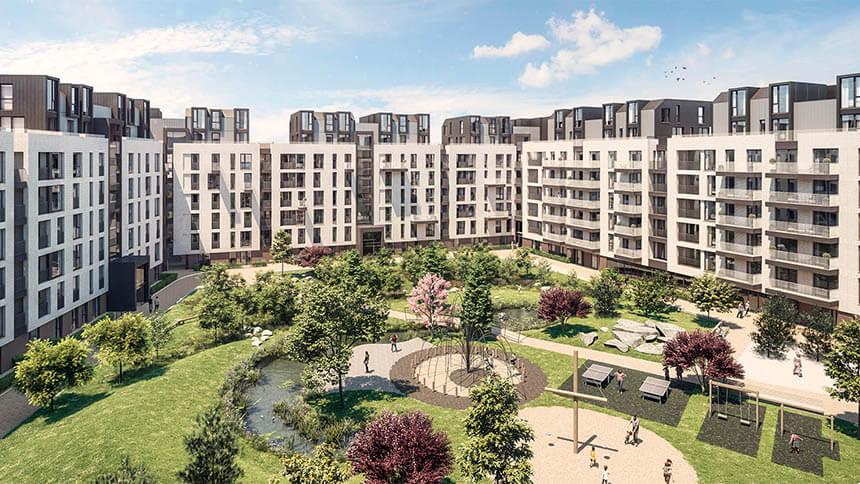 New Garden Quarter (Telford Homes)