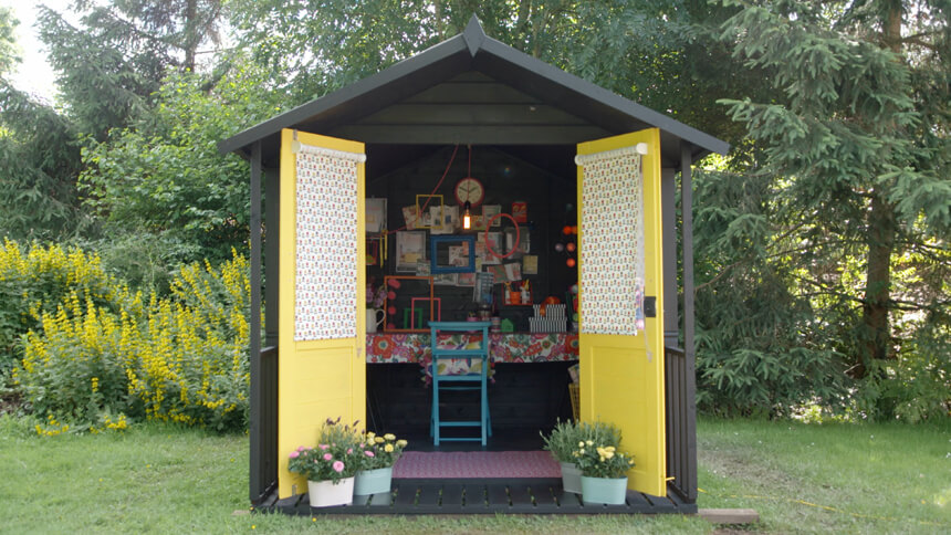 Sophie Robinson's she shed