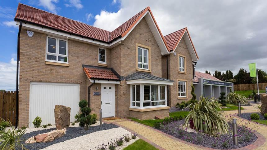 'Drummond' house type (Barratt Homes)
