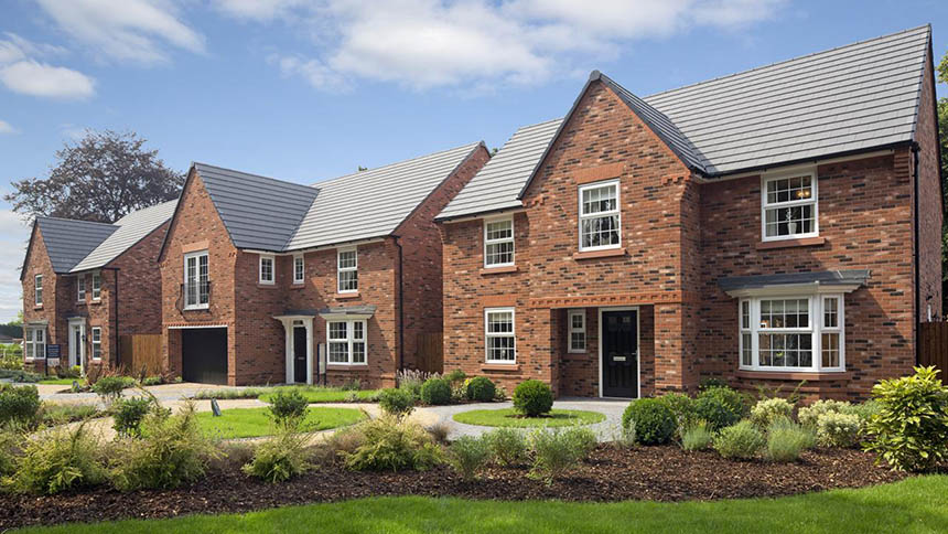 Stapeley Gardens (David Wilson Homes)