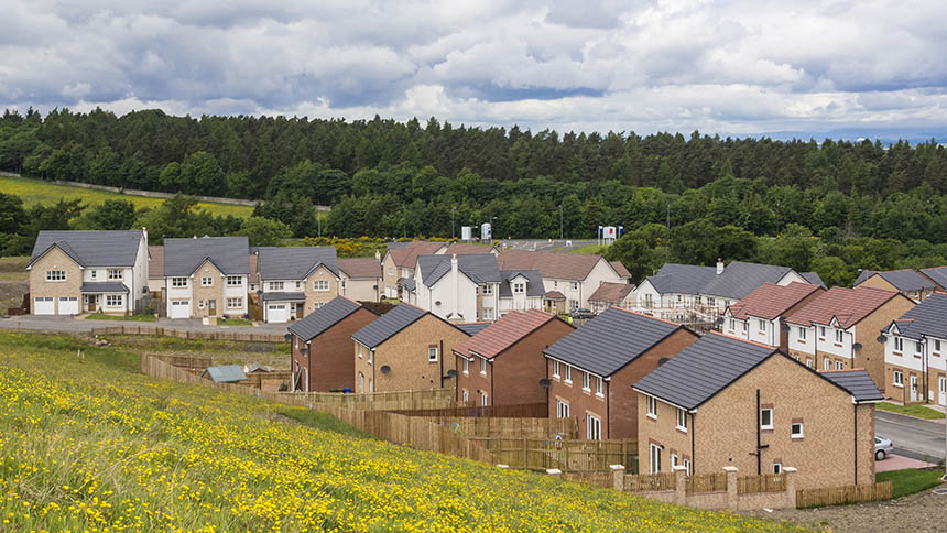 Scotland has schemes to make homebuying affordable