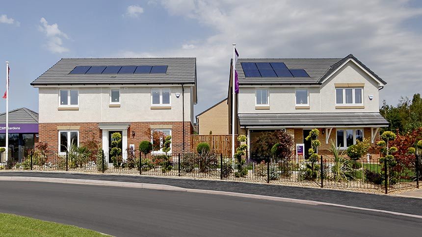 Raven's Cliff Gardens (Taylor Wimpey)