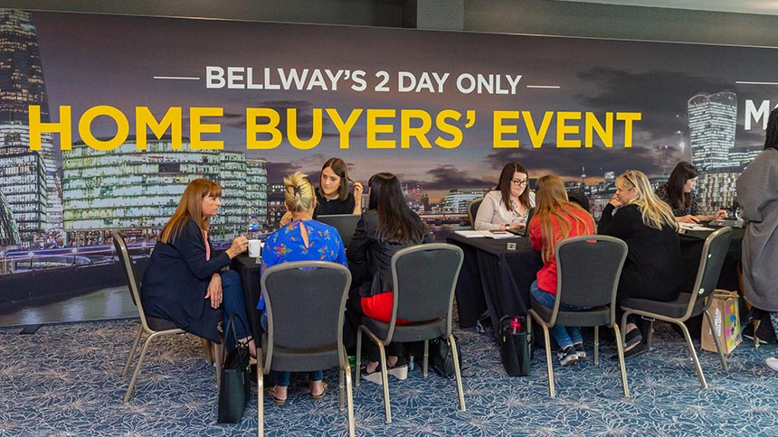 Bellway home buyers' event