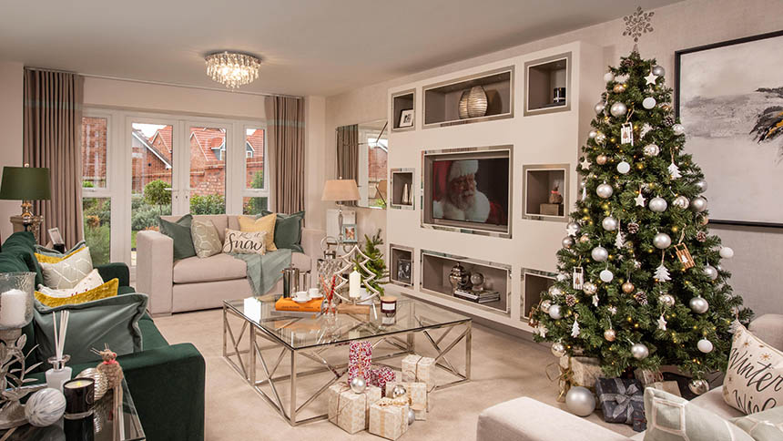Christmas show home from Kier Living Eastern