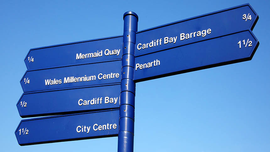 Places to go around Cardiff