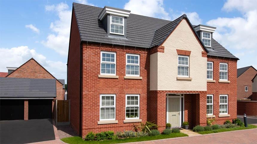 The 'Lichfield' from David Wilson Homes