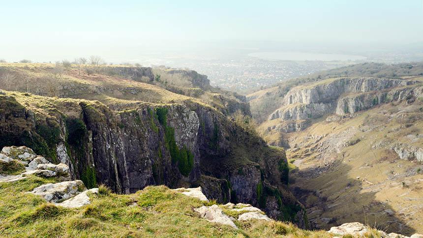 Cheddar Gorge, Mendip Hills