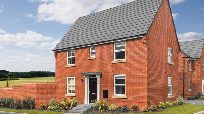 The 'Hadley' from David Wilson Homes