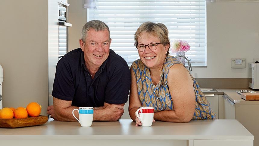 Steve and Sharon Morgan