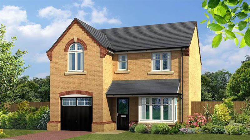 'Windsor' house type, Forest Reach (Harron Homes)