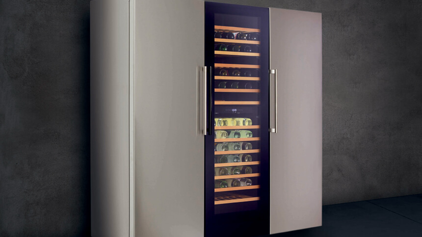 CDA's full height FF880 freestanding freezer