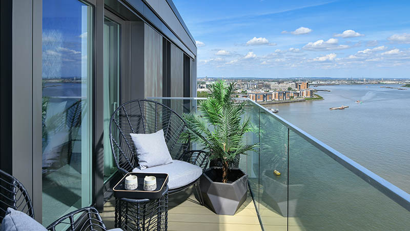 Show home, Waterfront II, Royal Arsenal Riverside
