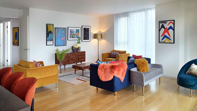 Three-bedroom show home, Five Riverside