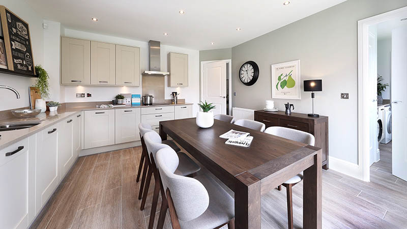 'Marlow' show home at Oakdene at The Hoplands