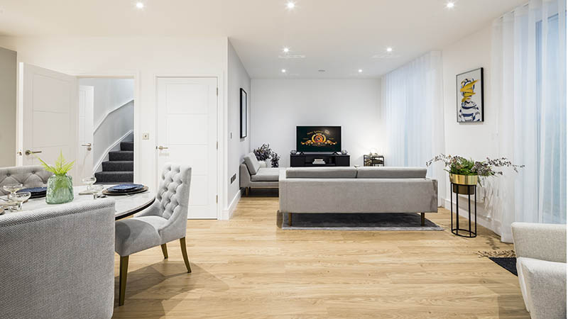 Timber Yard show home, Galliard Apsley Partnership