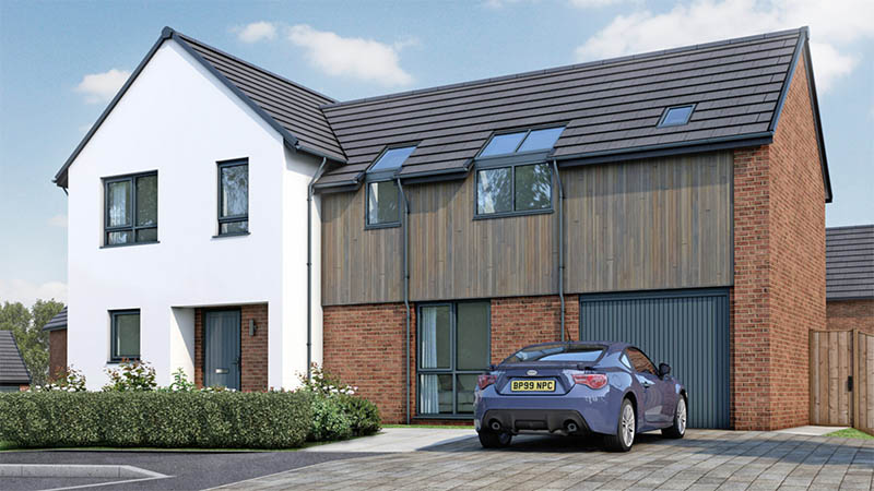 The 'Farmhouse 5' from Kingswood Homes