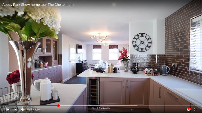 Show home at Abbey Park (Larkfleet Homes)