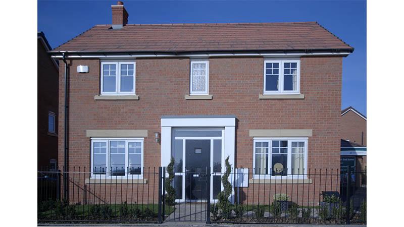'Himbleton' house type at Bishop's Gate