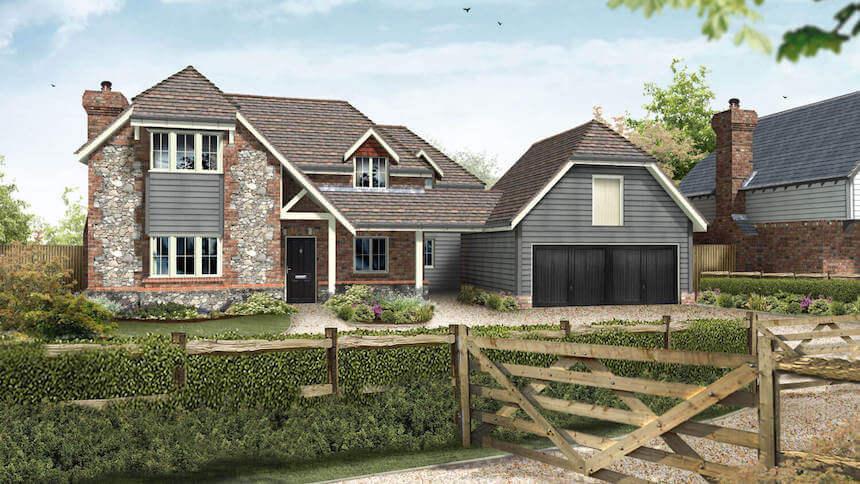 Bell Orchard in Kent (Millwood Designer Homes)