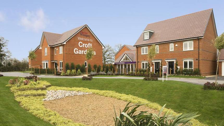 Croft Gardens in Berkshire (Taylor Wimpey)