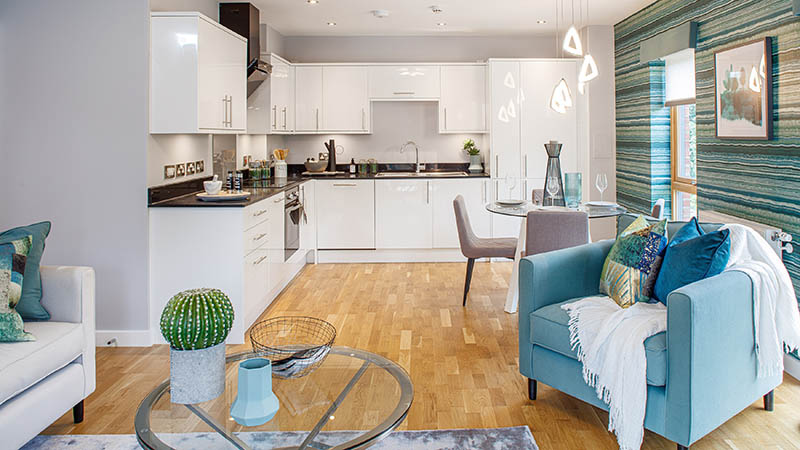 Show home at Central Square (Broadway Living)