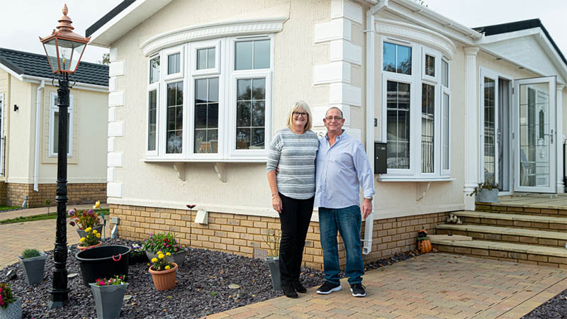 Phill and Janet Myall at Royale Heights