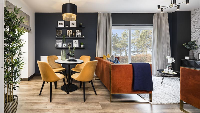 1023 West show apartment (Weston Homes)