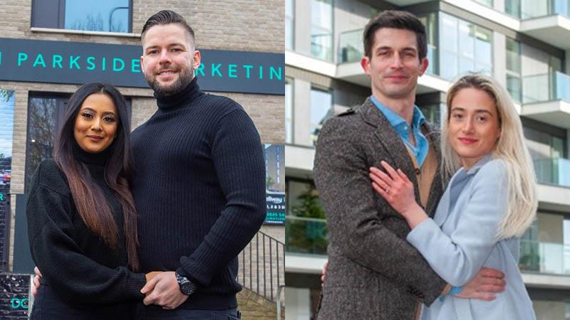 First-time buyers Sharmin, Gergo, Sophie, Arthur
