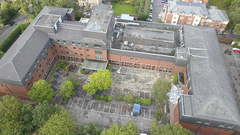 Site of Manchester's new LGBT+ extra care facility