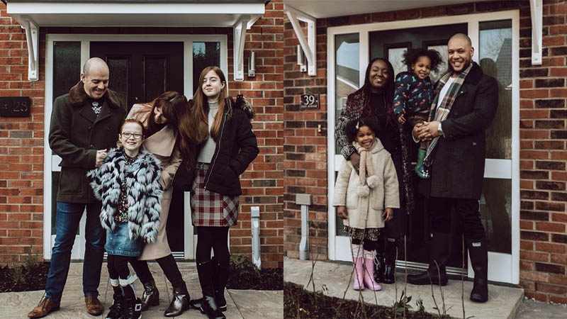The Sinka and Robinson families