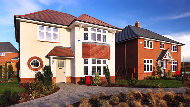 'Leamington Lifestyle' and 'Harrogate' show houses