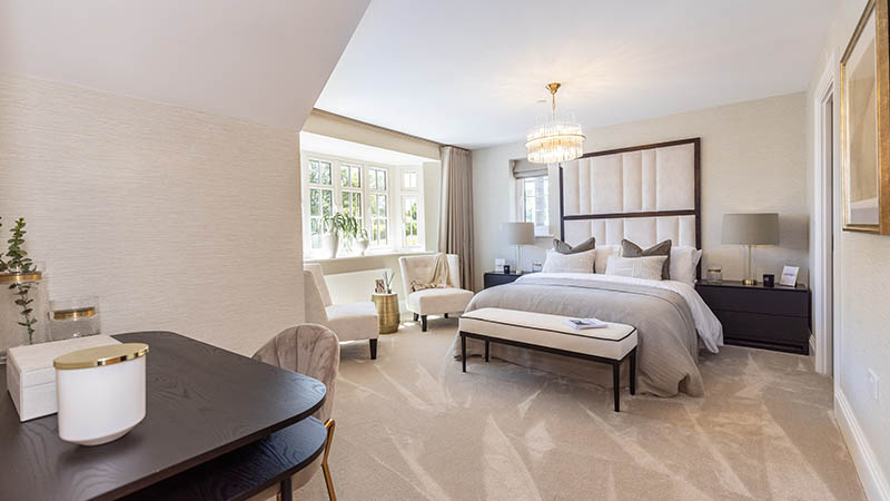 The 'Truro' show home at Beaufort Gardens