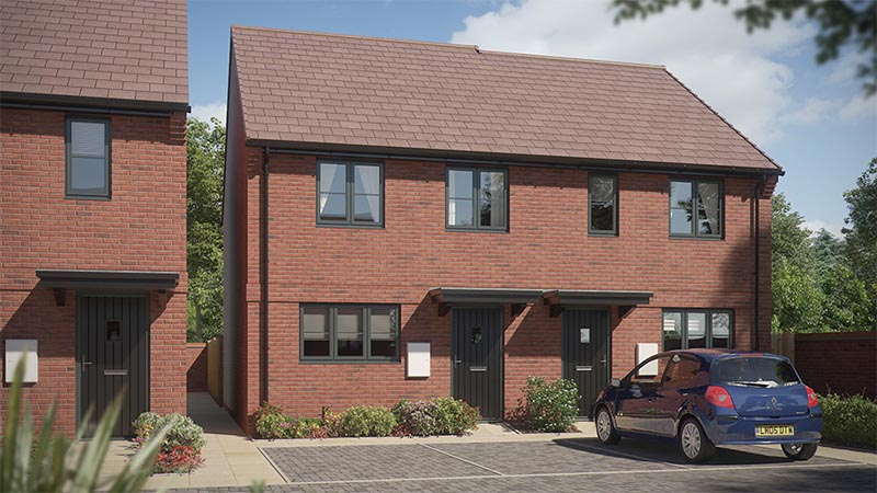 'The Hillfield' at Friars Gate (Bromford)