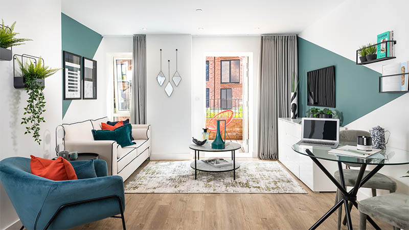 Show home at The Gade (Hill)