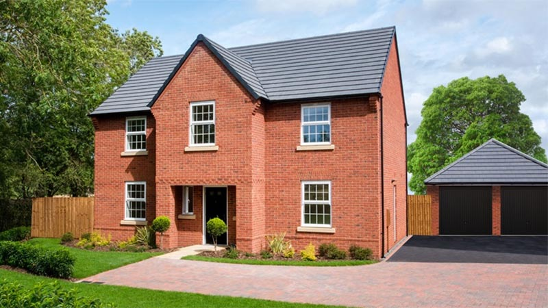 The 'Winstone' house type (David Wilson Homes)