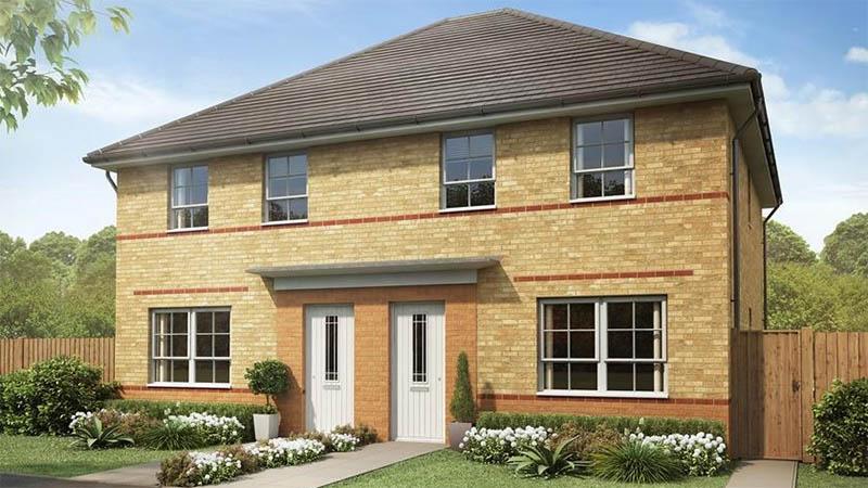 The 'Maidstone' (Barratt Homes @ Parc Fferm Wen)