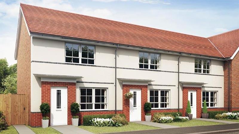 The 'Roseberry' at Hawk Rise (Barratt Homes)