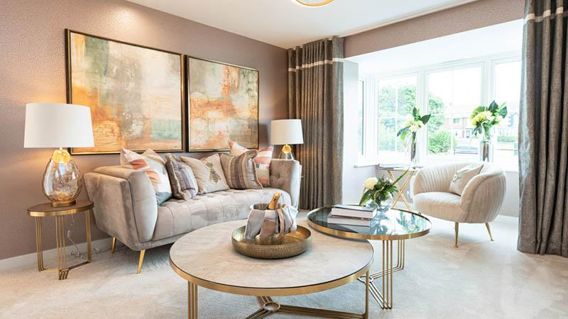 Show home at Collingwood Grange (Miller Homes)