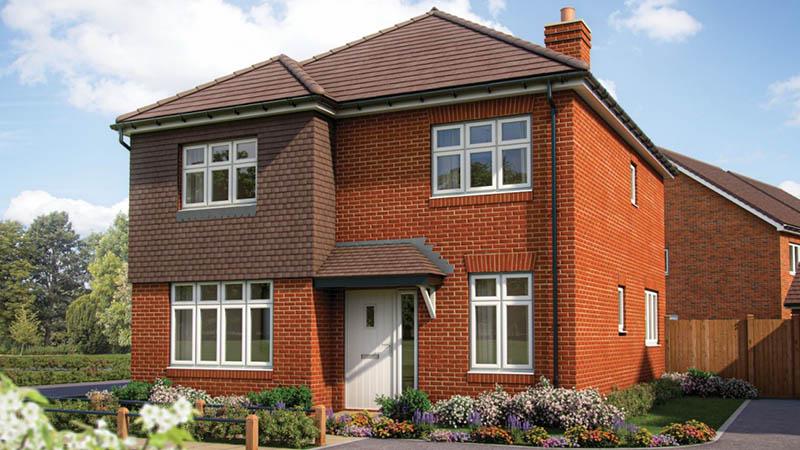 Show home type at Grange Park (Bovis Homes)
