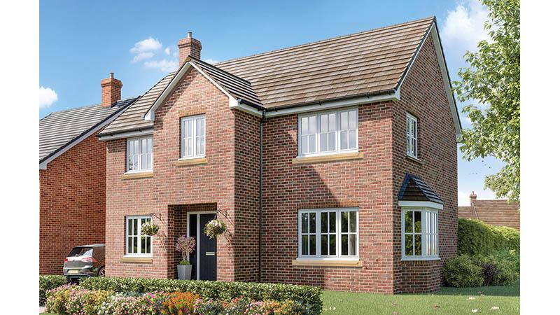 The 'Wythall' at Three Js (Elan Homes)