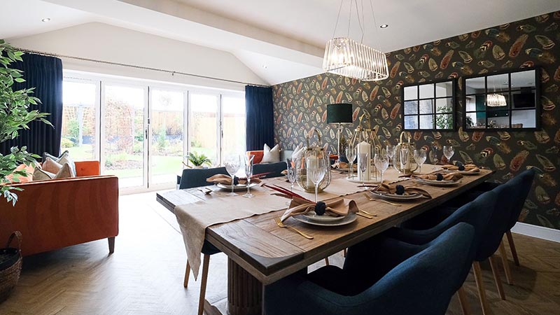 New show home at Owl Homes development
