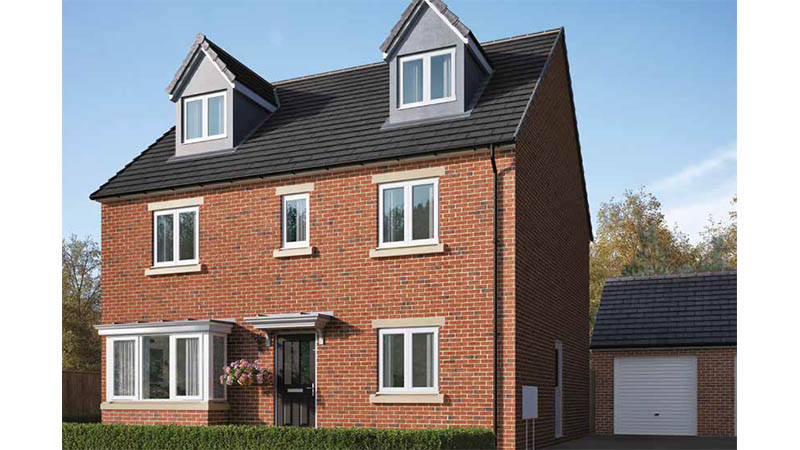 The 'Fletcher' at Grainbeck Lane (Home Reach)