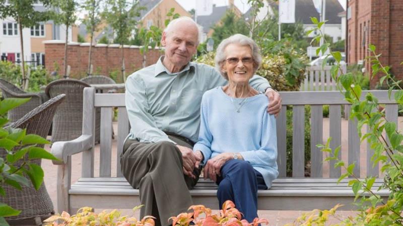 Michael Pearson and Patricia Flack