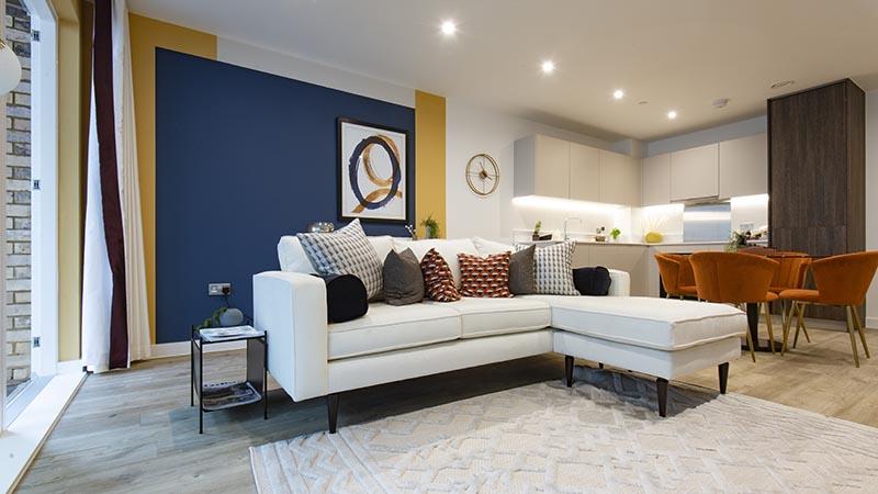Show home at L&Q at Kidbrooke Village