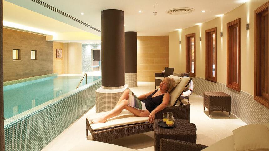The wellness pool at Richmond Painswick