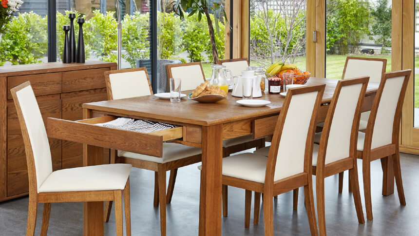 Olten extending dining table