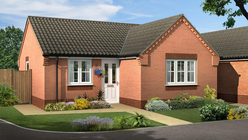 House type in Bilsthorpe (Rippon Homes)
