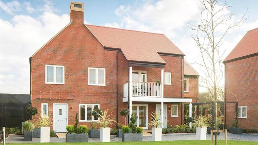 Kings Barton in Winchester, Hampshire (CALA Homes)