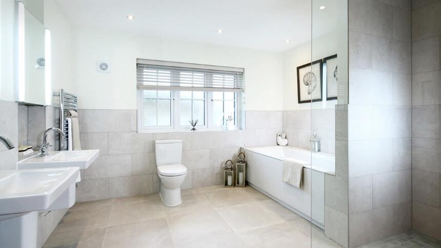 The Highgrove bathroom